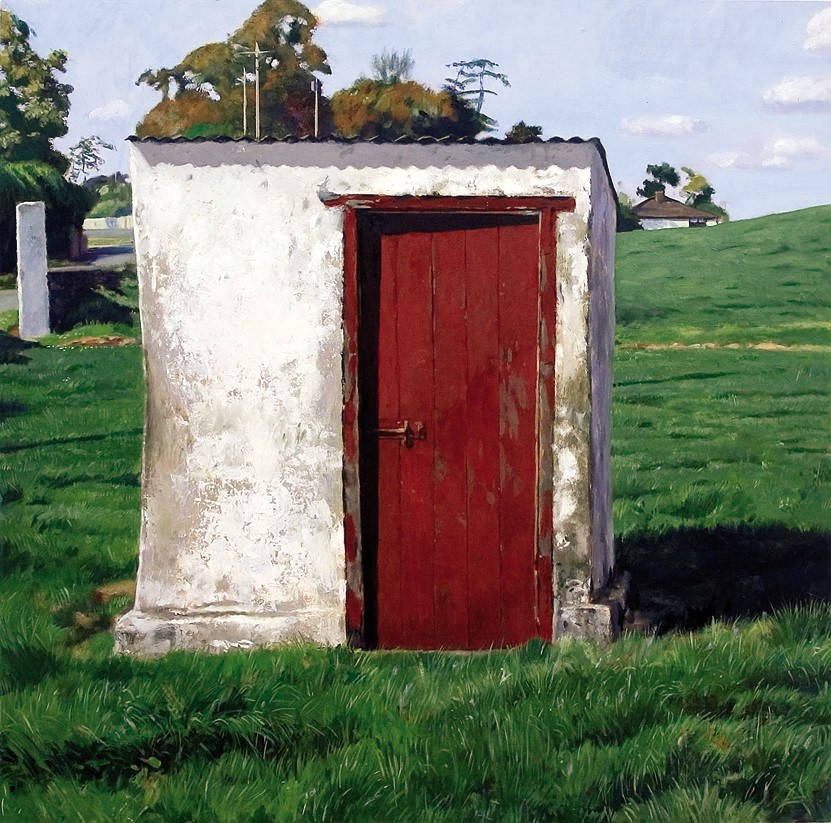 OUTHOUSE (WHITE'S FARM, SHEESTOWN, BENNETSBRIDGE) by Blaise Smith  at deVeres Auctions