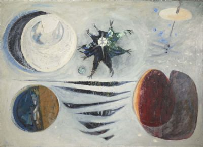 THE SPACE CIRCUS by Gerard Dillon  at deVeres Auctions