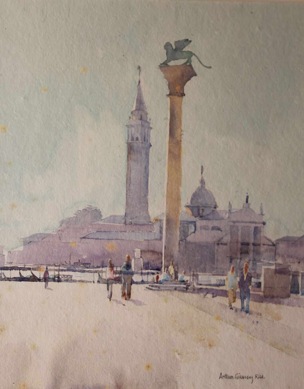 VENITIAN QUAYSIDE by Arthur Gibney  at deVeres Auctions