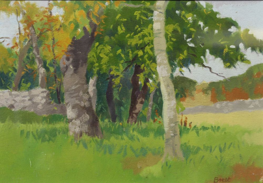 THE MEADOWS EDGE by Brett McEngtaggert  at deVeres Auctions